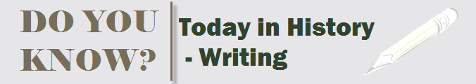Today in History – Writing – 16thDec