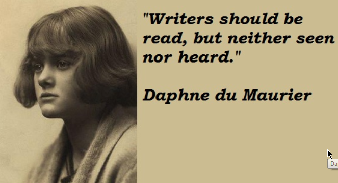 Know Your History – 13th May – Daphne Du Maurier born