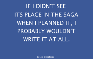 Leslie Charteris quote