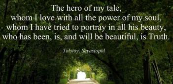 leo tolstoy - the hero is truth