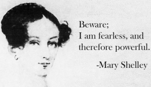 mary shelley - fearless