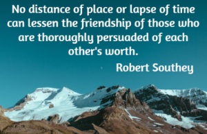robert southey - friendship