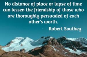 robert southey - friendship