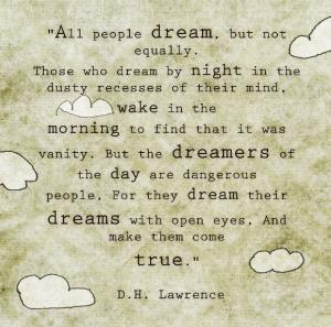 d h lawrence dream