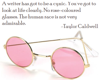 Taylor Caldwell - rose tinted glasses