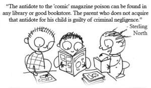 Sterling North_comics bad_ libraries good