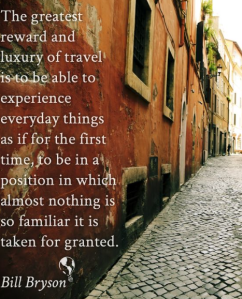 Bill Bryson - travel