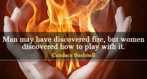 Candace Bushnell women fire