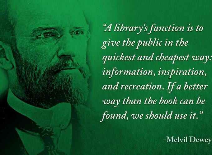 Know Your History – 10th December – Melvil Deweyborn