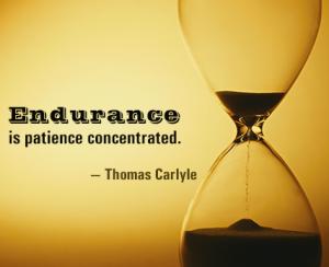 Thomas Carlyle - endurance