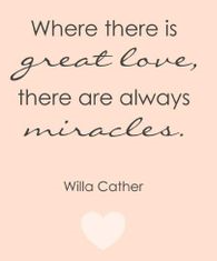 Willa Cather - love miracles