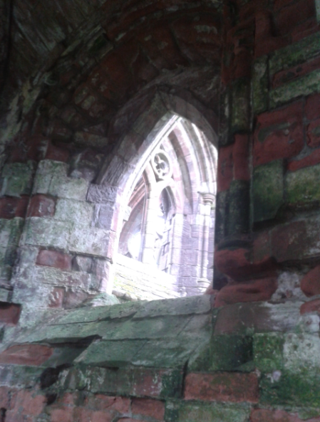 window - Sweetheart Abbey