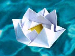 Origami River Rose