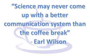 science coffee break earl wilson
