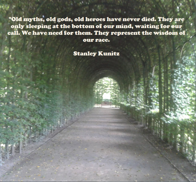 old myths - old gods - sleeping - wisdom - stanley kunitz.png