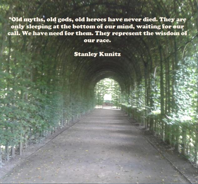 old myths - old gods - sleeping - wisdom - stanley kunitz.png