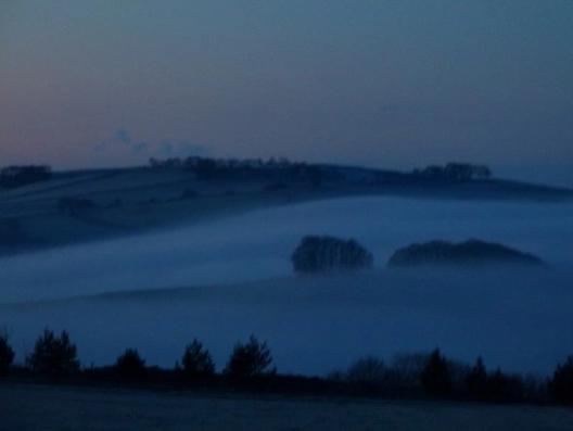 twilight fog by Sue Vincent