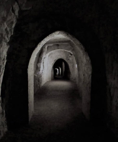 Waiting - Tunnel - cavern - image by Sue Vincent