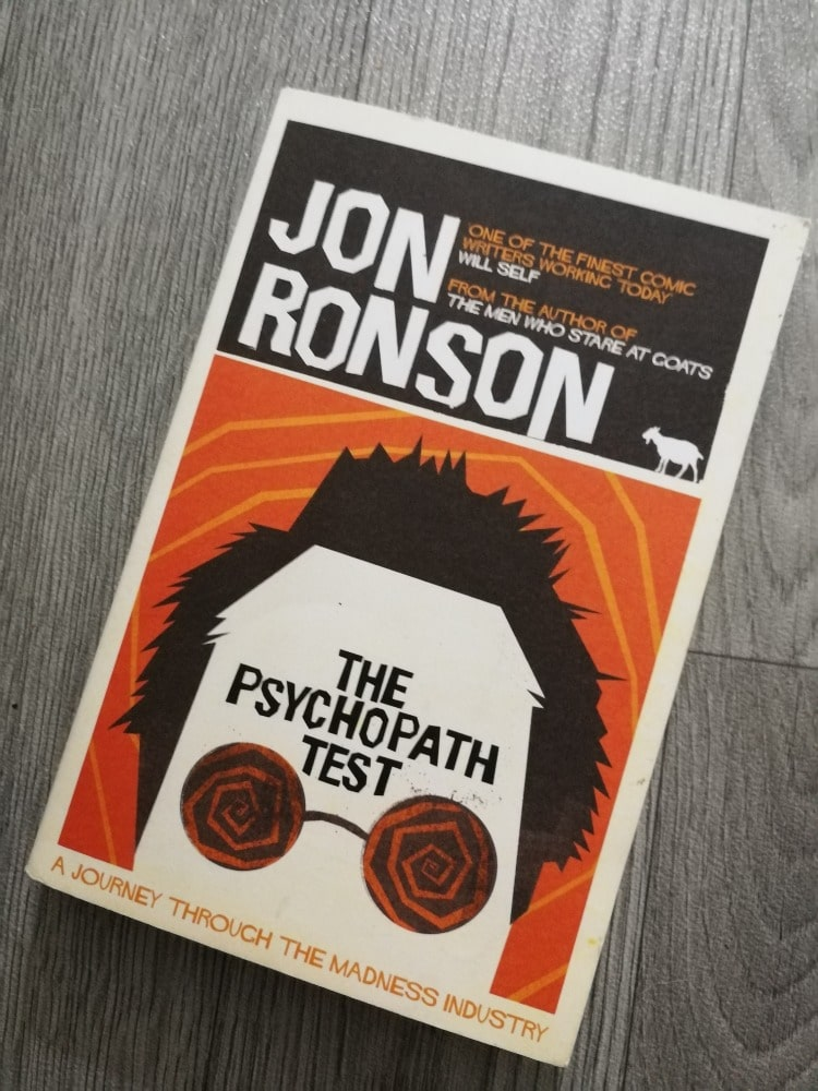 Cover: The Psychopath Test by Jon Ronson